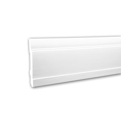 Interior mouldings - Skirting Profhome 153102 | Baseboards | e-Delux