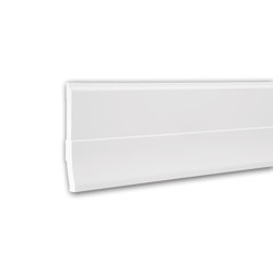 Interior mouldings - Skirting Profhome 153105 | Baseboards | e-Delux