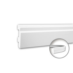 Interior mouldings - Skirting Profhome 153101F | Baseboards | e-Delux