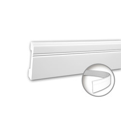 Interior mouldings - Skirting Profhome 153103F | Baseboards | e-Delux