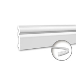 Interior mouldings - Skirting Profhome 153109F | Baseboards | e-Delux