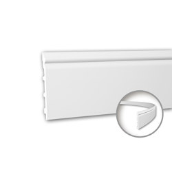 Interior mouldings - Skirting Profhome 153110F | Baseboards | e-Delux