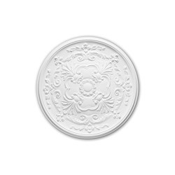 Interior mouldings - Ceiling rose Profhome 156024 | Medaillons | e-Delux