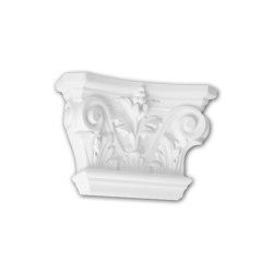 Interior mouldings - Capitel de pilastra Profhome Decor 121001 | Listones | e-Delux