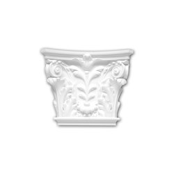 Interior mouldings - Pilaster capital Profhome 121002 | Coving | e-Delux