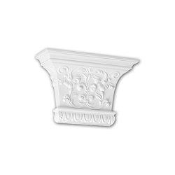 Interior mouldings - Capitel de pilastra Profhome Decor 121007 | Listones | e-Delux
