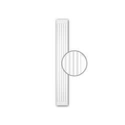 Interior mouldings - Pilaster shaft Profhome 122020 | Wall decoration | e-Delux