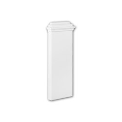 Interior mouldings - Pilaster base Profhome 123300 | Baseboards | e-Delux