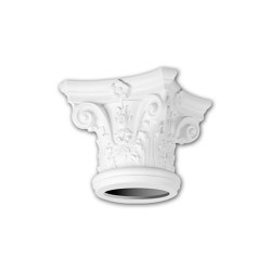 Interior mouldings - Full column capital Profhome 111001 | Coving | e-Delux