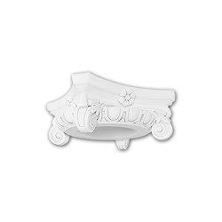 Interior mouldings - Full column capital Profhome 111006 | Coving | e-Delux