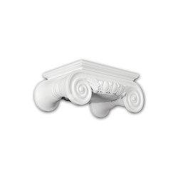 Interior mouldings - Capitel de columna Profhome Decor 111009 | Listones | e-Delux