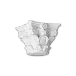 Interior mouldings - Full column capital Profhome 111010 | Coving | e-Delux