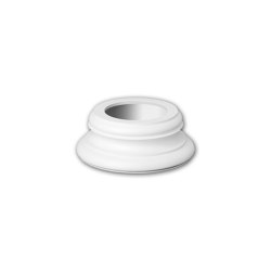 Interior mouldings - Full column base Profhome 113200 | Baseboards | e-Delux