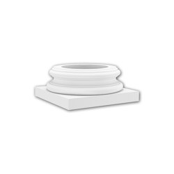 Interior mouldings - Full column base Profhome 113500 | Baseboards | e-Delux