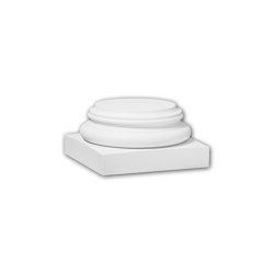 Interior mouldings - Full column base Profhome 113700 | Baseboards | e-Delux