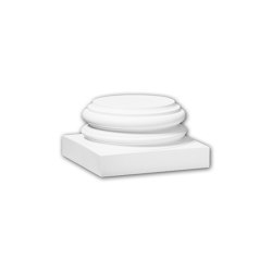 Interior mouldings - Full column base Profhome 113800 | Baseboards | e-Delux