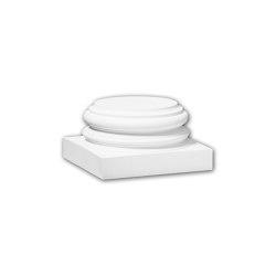 Interior mouldings - Zócalo de columna Profhome Decor 113800 | Losetas táctiles | e-Delux