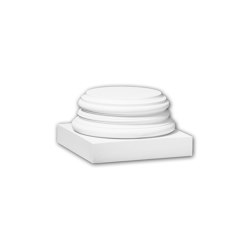 Interior mouldings - Full column base Profhome 113900 | Baseboards | e-Delux