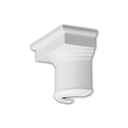 Interior mouldings - Half column capital Profhome 115002 | Coving | e-Delux