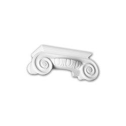Interior mouldings - Half column capital Profhome 115004 | Coving | e-Delux