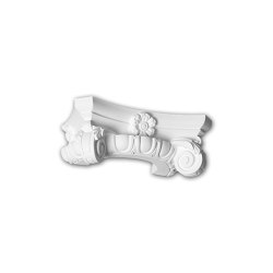 Interior mouldings - Capitel de media columna Profhome Decor 115006 | Listones | e-Delux