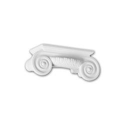 Interior mouldings - Half column capital Profhome 115009 | Coving | e-Delux