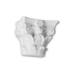 Interior mouldings - Half column capital Profhome 115010 | Coving | e-Delux