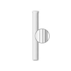 Interior mouldings - Half column shaft Profhome 116011 | Coving | e-Delux