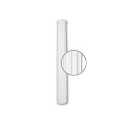 Interior mouldings - Half column shaft Profhome 116030 | Coving | e-Delux
