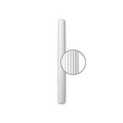 Interior mouldings - Half column shaft Profhome 116070 | Coving | e-Delux