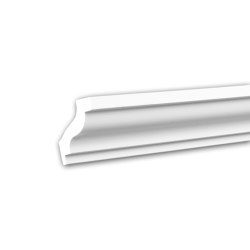 Interior mouldings - Cornice moulding Profhome 650103 | Coving | e-Delux
