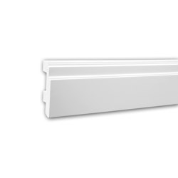 Interior mouldings - Skirting Profhome 653101 | Baseboards | e-Delux