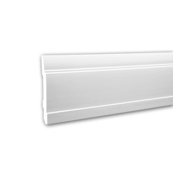 Interior mouldings - Skirting Profhome 653102 | Baseboards | e-Delux