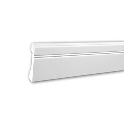 Interior mouldings - Skirting Profhome 653103 | Baseboards | e-Delux