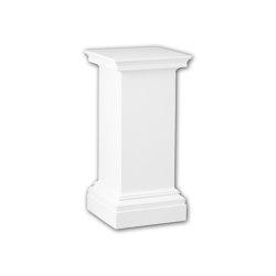 Interior mouldings - Pedestal de columna Profhome Decor 114001 | Losetas táctiles | e-Delux