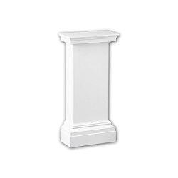 Interior mouldings - Pedestal de media columna Profhome Decor 118001 | Losetas táctiles | e-Delux