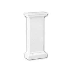 Interior mouldings - Pedestal de media columna Profhome Decor 118002 | Losetas táctiles | e-Delux