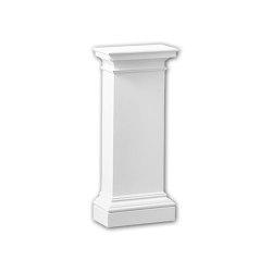 Interior mouldings - Pedestal de media columna Profhome Decor 118003 | Losetas táctiles | e-Delux