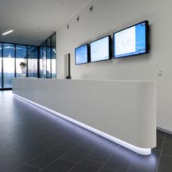 Reception desk | Banconi | Müller Manufaktur