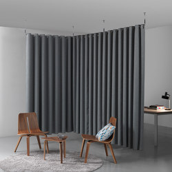 Clasp Divider | Sound absorbing fabric systems | Caimi Brevetti