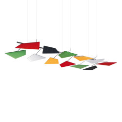 Flap Ceiling | Sound absorbing suspended panels | Caimi Brevetti