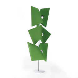 Flap Totem | Sound absorbing freestanding systems | Caimi Brevetti