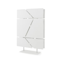 Flat Totem | Sound absorbing freestanding systems | Caimi Brevetti