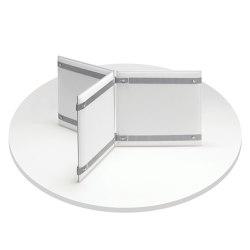 Pli Desk | Sound absorbing table systems | Caimi Brevetti