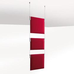 Tra Light | Sound absorbing room divider | Caimi Brevetti