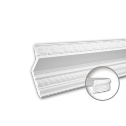 Interior mouldings - Cornice moulding Profhome 150149F | Coving | e-Delux