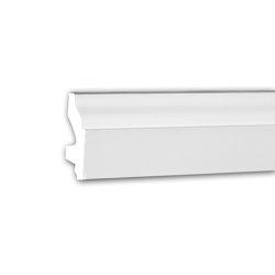 Interior mouldings - Skirting Profhome 153111 | Baseboards | e-Delux
