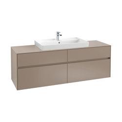Collaro C028L0VK Armario Bajo Para Lavabo | Armarios lavabo | Villeroy & Boch