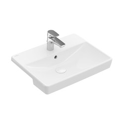 Avento Semi-recessed washbasin | Wash basins | Villeroy & Boch