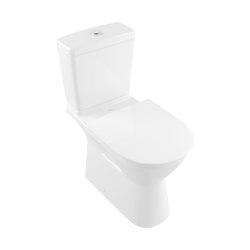 O.Novo Vita Washdown WC For Close-Coupled WC-Suite, Rimless Vita | WC | Villeroy & Boch